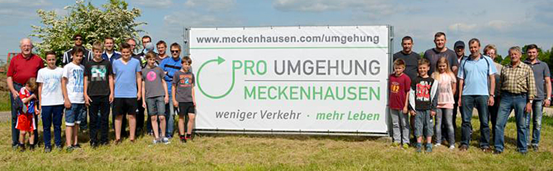 Unterschriftensammlung In Meckenhausen Hat Begonnen