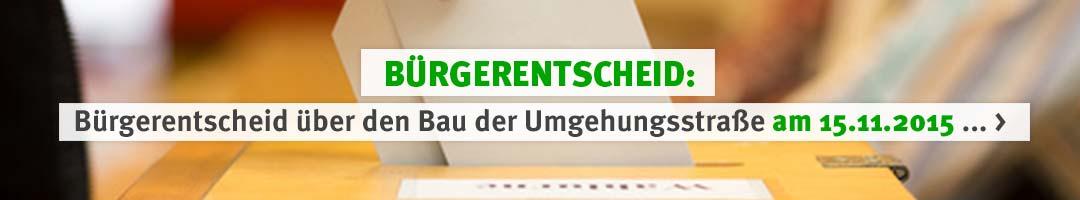 IG Pro-Umgehung-Hip: Bürgerentscheid über eine Umgehungsstraße in Hilpoltstein am 15.11.2015