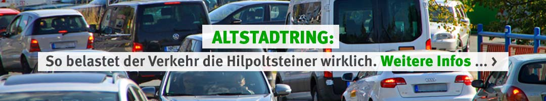 IG Pro-Umgehung-Hip: So belastet der Verkehr auf dem Altstadtring die Hilpoltsteiner wirklich