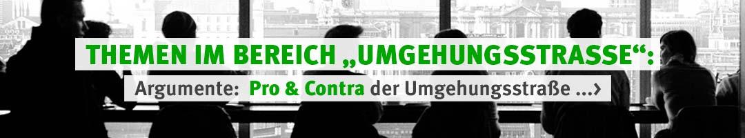 IG Pro-Umgehung-Hip: Argumente Pro & Contra